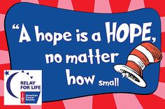 dr seuss themed relay for life | Get involved with Relay for Life, today - Titusville Herald: Community ...