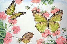 I uploaded new artwork to fineartamerica.com! - 'Butterfly Garden-g' - http://fineartamerica.com/featured/butterfly-garden-g-jean-plout.html via @fineartamerica