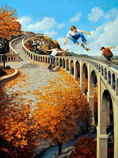 Il magico realismo di Rob Gonsalves, Incredibili dipinti, in un viaggio tra lo…