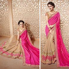 Bollywood designer sari Saree Wedding bridal blouse fabrics ethnic indian Sarees #Shoppingover #Saree #WeddingPartywear