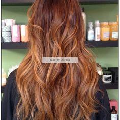 balayage for auburn hair - Google Search