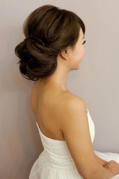 Image result for wedding hair bun
