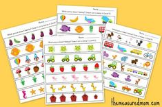 which one is different collage the measured Which one is different? worksheets for preschool and kindergarten Things To Think About, Things To Come, Do A Dot, Exactly Like You, New Thought, Learning Centers, Fractions, Different, Worksheets
