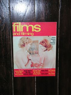 Vintage 1967 Films And Filming Magazine Movie Magazine Vanessa Redgrave Blow Up Elvis by VintageBlackCatz on Etsy