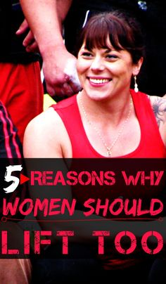 5 REASONS WHY WOMEN SHOULD LIFT TOO