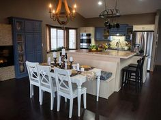 20 Small Kitchen Makeovers By HGTV Hosts | Kitchen Cousins, Small Kitchen  Makeovers And Kitchen Makeovers