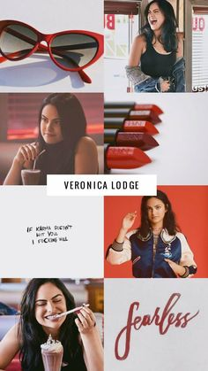 Never intralce a Lodge Veronica Lodge Aesthetic, Veronica Lodge Fashion, Veronica Lodge Outfits, Veronica Lodge Style, Cheryl Blossom Riverdale, Riverdale Cheryl, Riverdale Archie, Riverdale Merch, Riverdale Cast