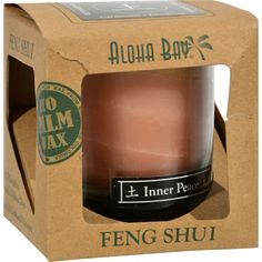 Aloha Bay Feng Shui Elements Palm Wax Candle - Earth/inner Peace - Oz Country of origin : Indonesia Size : OZ Pack of : 1 Product Selling Unit : each Candle Wax, Votive Candles, Scented Candles, Aromatherapy Candles, Jar Candle, Feng Shui Candles, Feng Shui Principles, 100 Pure Essential Oils, Green Life