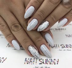 What Christmas manicure to choose for a festive mood - My Nails Stylish Nails, Trendy Nails, Shellac Nails, Nail Polish, Love Nails, My Nails, Nagellack Design, Cute Acrylic Nails, Nagel Gel