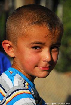 Boy in the village of Khorog, TAJIKISTAN