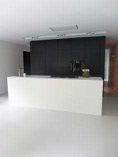 Gietvloer keuken Wassenaar wit