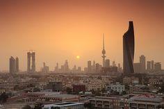 Kuwait City Skyline Sunset | Flickr - Photo Sharing!