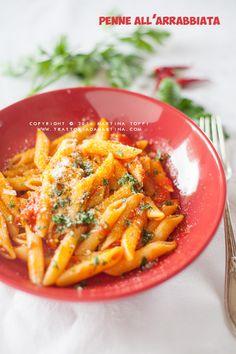 Trattoria da Martina - cucina tradizionale, regionale ed etnica: Penne all'arrabbiata: ricetta classica