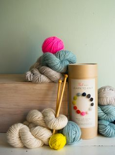 New! Purl Soho's Learn To KnitKit!