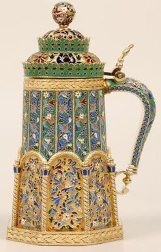 Russian jeweler Ivan Khlebnikov