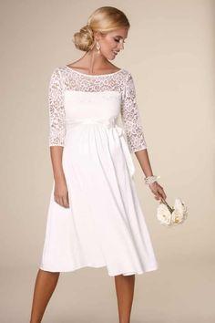 28a229ec1 Vestido de novia corto  Tiffany Rose Vestidos De Novia Embarazada