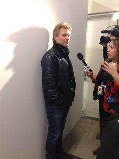 Look who we ran into #bonjovi #kennethcole #fw14