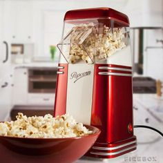 Mini Retro Popcorn Maker