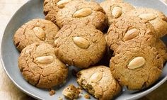 Dan Lepard's almond butter cookies: Rather good for a petit four with coffee. Photograph: Colin Campbell for the Guardian