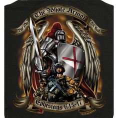 Armor of God Black Hoodie