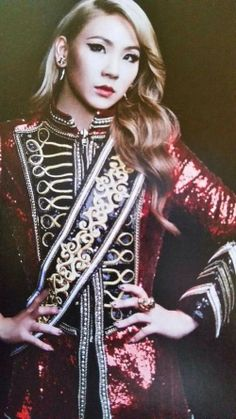 "Scans of Beautiful Queen CL from 2NE1 ""CRUSH"" Japanese Album"