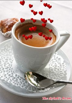 Coffee Valuable time Is Well Noted for Our Delicious Home made Pastry, atmospheric condition It's Our help. Coffee Gif, Coffee Images, I Love Coffee, Coffee Break, My Coffee, Coffee Drinks, Espresso Coffee, Good Morning Coffee, Good Morning Quotes