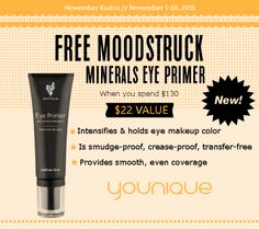 #Younique Moodstruck Minerals Eye Primer