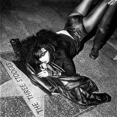 Hollywood Walk of Fame, ph. Moshe Brakha, 1984