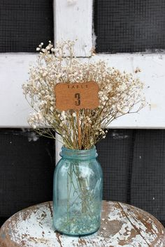 1 - 8 wood scalloped edge table numbers on a stick . table number wedding centerpieces . oval numbers .  woodland wedding numbers