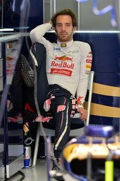 Jean Eric Vergne Scuderia Toro Rosso