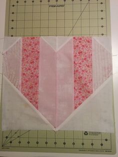 Moda - Kissing Booth Fabric       This quilt is perfect for your Valentine! Normally I post Free Quilt Patterns on Mondays BUT I needed to ...