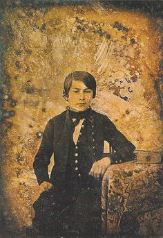 Edouard Manet (1832-1883) as a young boy