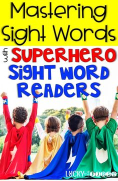 Learning Sight Words can be fun! Help expand your students' vocab with this fun way to learn words! This easy to set up program will ensure success and fun for learning sight words for early readers!