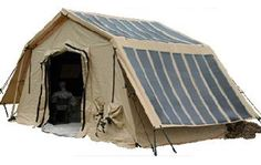 Tents & Shelters with TacticalSolar® Panels Various DC & AC output voltages are available. Units are integrated into self-contained enclosures providing easy deployment and equipment protection. Quick setup in as little as 2-minutes. Systems can also use DC from military or emergency vehicles as input and optionally AC from any AC source.