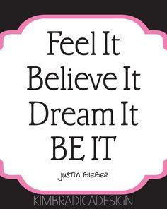 Justin Bieber Song Lyric, 8x10 Digital Print. $12.00, via Etsy. http://pinterest.com/kbradicadesign/ http://www.facebook.com/KimBradicaDesign
