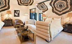 Private residence in Mercer Island, Washington: bedroom decoration ideas by @kellywearstler. #decoration ideas #ad100 #interiordesigner room design, interior design styles. See more at http://www.brabbu.com/en/inspiration-and-ideas/interior-design/2016-ad-100-list-kelly-wearstler-decoration-ideas-2/1