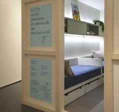 Freedom Rooms: Micro Apartments Designed by Prisoners | Designs & Ideas on Dornob