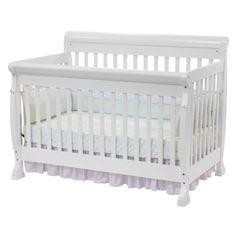 Davinci Kalani 4-in-1 Convertible Crib With Toddler Rail - White