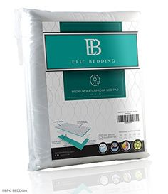 Waterproof Bed Pad - Incontinence / Bed Wetting Pad - Protector For Mattress and Sheets - Extra Absorbent Prevents Moisture Damage and Staining - Children and Adult Use - Washable and Reusable 34 x 52