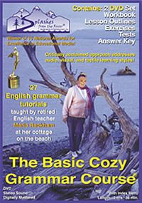 **This site also has a neat spelling course. Scroll to the bottom and it's in the list of links.** The Basic Cozy Grammar Course