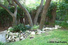 Add rock garden around a tree