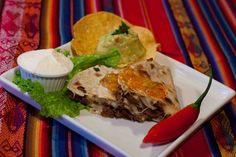El Paso Texas (Jantar) Quesadilla machaca