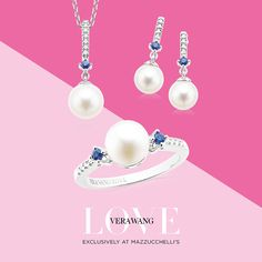 Perfect pearls for Mum! This gorgeous new set is in-store just in time for Mother's Day. Take a closer look at the entire Vera Wang LOVE Collection on our website. #mazzucchellis #jeweller #jewellery #love #VeraWang #VeraWangLOVE #VeraWangBride #sapphire #sapphirejewellery #pear #pearls #diamond #diamonds #diamondring #diamondjewellery #fashion #style #gift #giftideas #MothersDay #mum #giftsformum