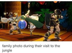 Just look at dark pit. The poor thing