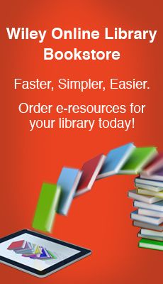 Wiley Online Library > Resources > For Librarians - Wiley Online Library