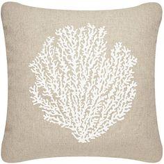 Sea Fan Pillow Cover