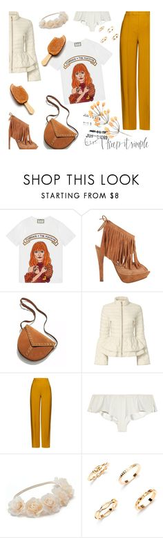 """Florence and the machine"" by alongcametwiggy ❤ liked on Polyvore featuring Gucci, Left and Right, Yves Saint Laurent, Elizabeth Roberts, ADAM, 3.1 Phillip Lim and Mudd"