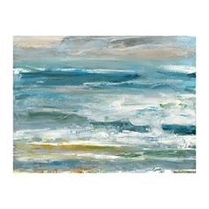 Coastal Colors Horizontal Canvas Art Print