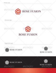 Rose Fusion Logo Design - NAT-004