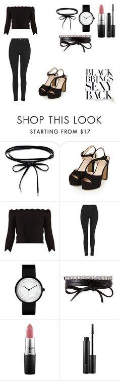 """#5"" by lollla on Polyvore featuring moda, Topshop, Alexander McQueen, Fallon i MAC Cosmetics"